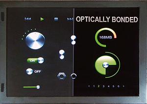 Optical bonding + Surface treatment